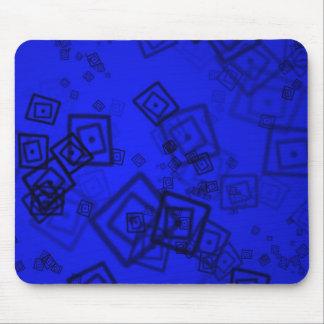 Fondo abstracto azul alfombrilla de ratones