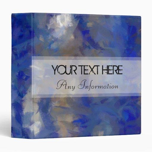 """Fondo abstracto azul de los colores en colores pas carpeta 1 1/2"""""""
