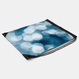 Fondo abstracto azul mochilas