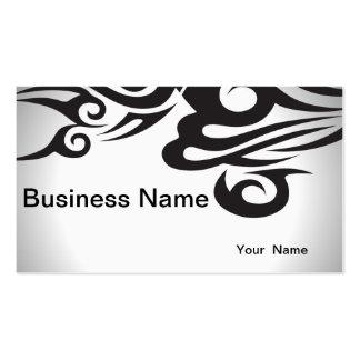 Fondo abstracto blanco y negro de la plantilla tarjetas de visita