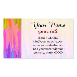 Fondo abstracto coloreado acuarela #5 tarjetas de visita