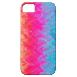 Fondo abstracto colorido #11 de la acuarela iPhone 5 Case-Mate coberturas