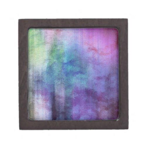 fondo abstracto de la acuarela del arte en el pape caja de regalo de calidad