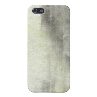fondo abstracto de la acuarela del arte en el pape iPhone 5 carcasa