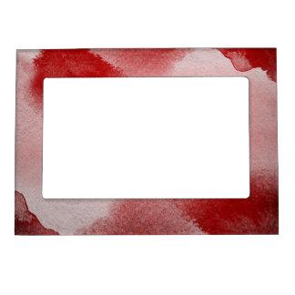 fondo abstracto de la pintura marcos magnéticos de fotos