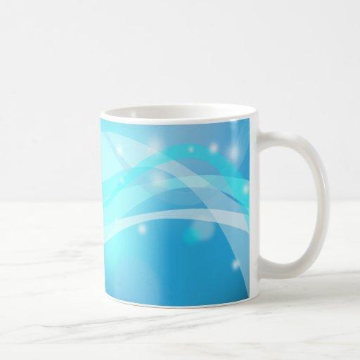 Fondo abstracto de la taza