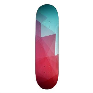 Fondo abstracto del color tablas de patinar