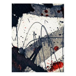 Fondo abstracto del grunge, textura de la tinta postales