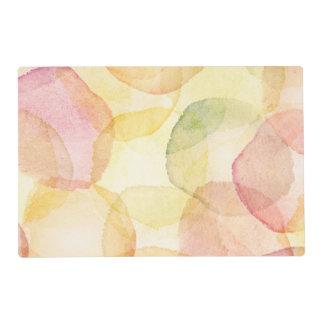 Fondo abstracto diseñado con la acuarela tapete individual