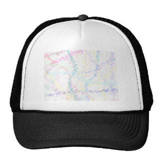 Fondo abstracto en colores pastel gorras de camionero