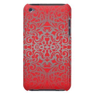 fondo abstracto floral de la caja de iPod iPod Touch Protectores