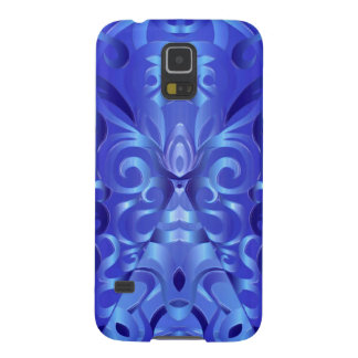Fondo abstracto floral de la galaxia S5 de Samsung Fundas De Galaxy S5