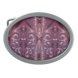 Fondo abstracto floral de la hebilla del cinturón hebillas cinturon ovales