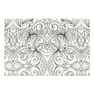 Fondo abstracto floral de la impresión de la foto cojinete