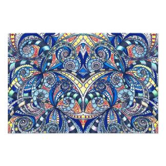 Fondo abstracto floral de la impresión de la foto fotografías