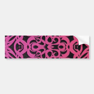 Fondo abstracto floral de la pegatina para el pegatina para auto