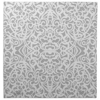 Fondo abstracto floral de la servilleta