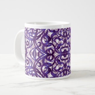 Fondo abstracto floral de la taza