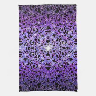 Fondo abstracto floral de la toalla