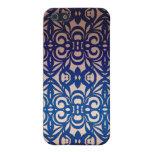 fondo abstracto floral del caso del iPhone 4 iPhone 5 Cobertura