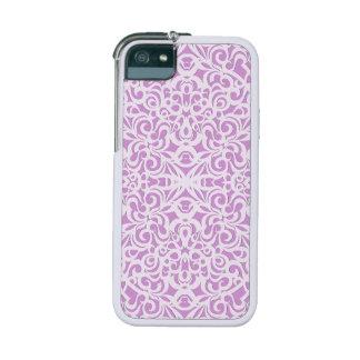 fondo abstracto floral del caso del iPhone 5/5S