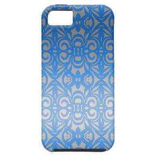 fondo abstracto floral del caso del iPhone 5 Funda Para iPhone 5 Tough