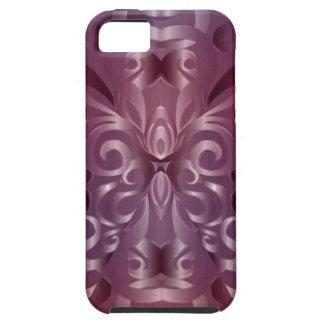 fondo abstracto floral del caso del iPhone 5 iPhone 5 Carcasa