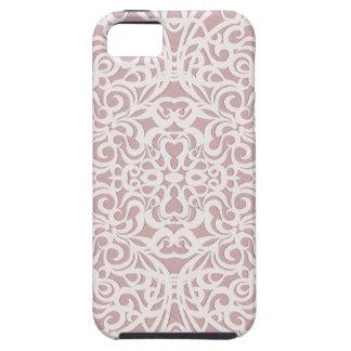 fondo abstracto floral del caso del iPhone 5 iPhone 5 Carcasas