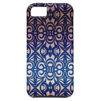 fondo abstracto floral del caso del iPhone 5 iPhone 5 Fundas
