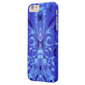 fondo abstracto floral del caso más del iPhone 6 Funda De iPhone 6 Plus Barely There