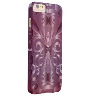 fondo abstracto floral del caso más del iPhone 6 Funda Para iPhone 6 Plus Barely There