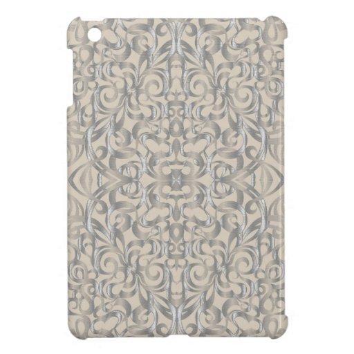 fondo abstracto floral del mini caso del iPad