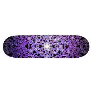 Fondo abstracto floral del monopatín tablas de patinar