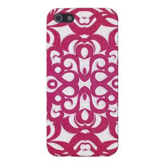 fondo abstracto floral listo del caso del iPhone 5 iPhone 5 Fundas