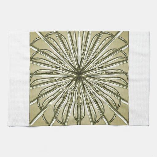 Fondo abstracto geométrico toallas