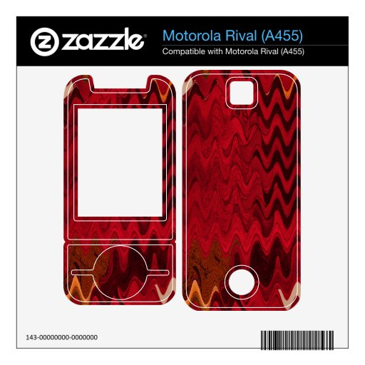 fondo abstracto negro rojo elegante motorola rival skin