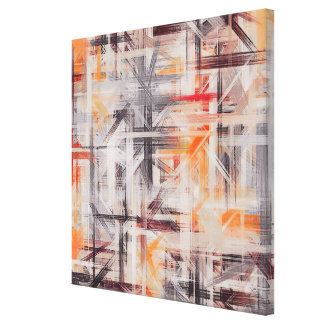 Fondo abstracto pintado decoración lienzo envuelto para galerias