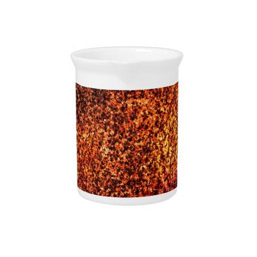 Fondo abstracto rojo de la textura jarrones