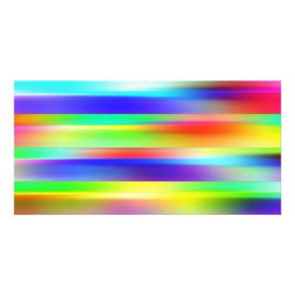 Fondo abstracto tarjetas fotográficas