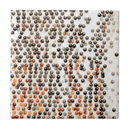 Fondo abstracto tejas  ceramicas