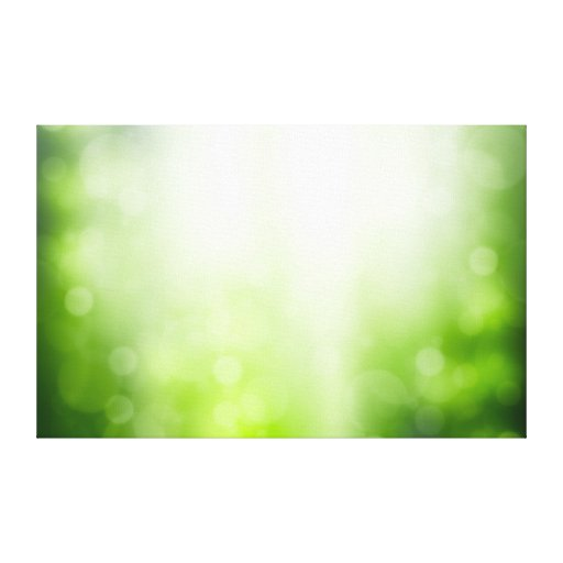 Fondo abstracto verde con Bokeh y los rayos de Sun Lona Estirada Galerías