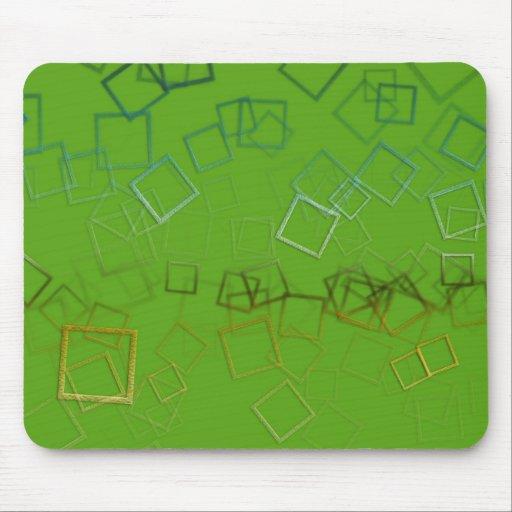 Fondo abstracto verde tapete de ratón