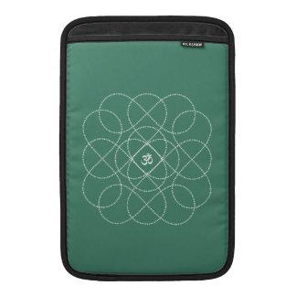 Fondo adaptable con Infiniti blanco OM Funda MacBook