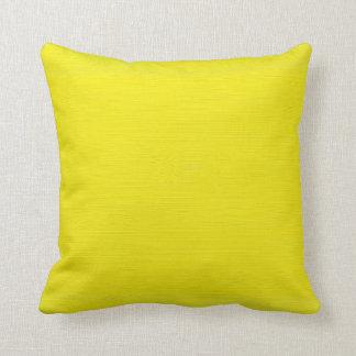 Fondo amarillo llano cojín