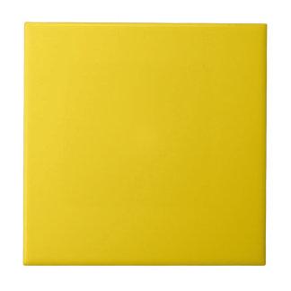 Fondo amarillo oscuro amarillo del sólido del azulejo cuadrado pequeño
