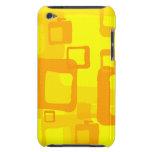 Fondo amarillo retro iPod Case-Mate funda