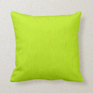 Fondo amarillo verde llano cojín