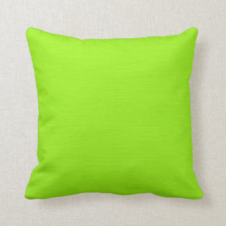 Fondo amarillo verde llano (de la cal) cojín