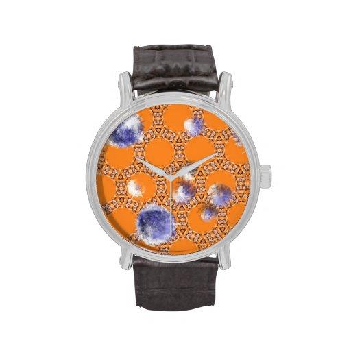 Fondo anaranjado abstracto