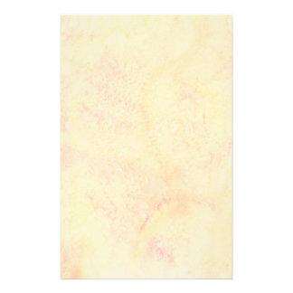 Fondo anaranjado de la acuarela papelería personalizada